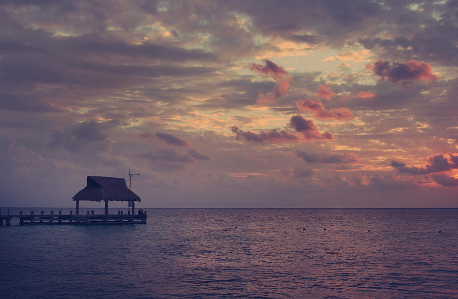 Cozumel Photograph - Enchanted Evening by Laurie Search
