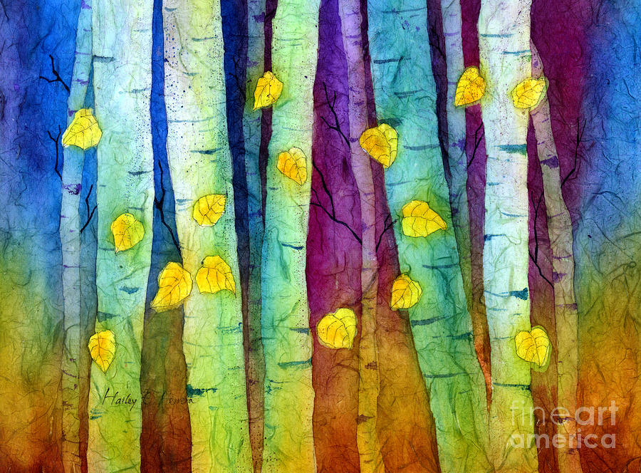 Enchanted Forest Painting