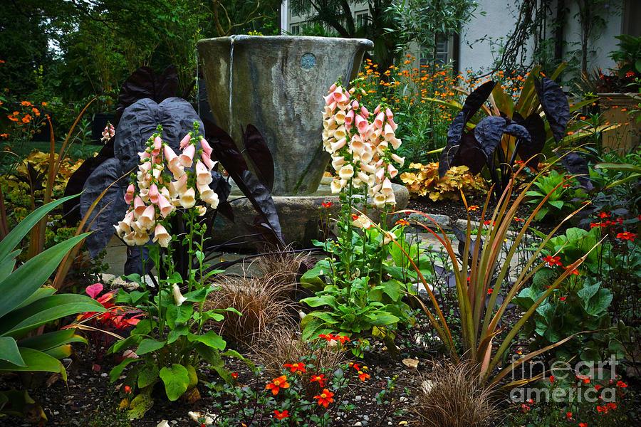 Garden Landscape Photograph - Enchanted Spring Garden by Byron Varvarigos