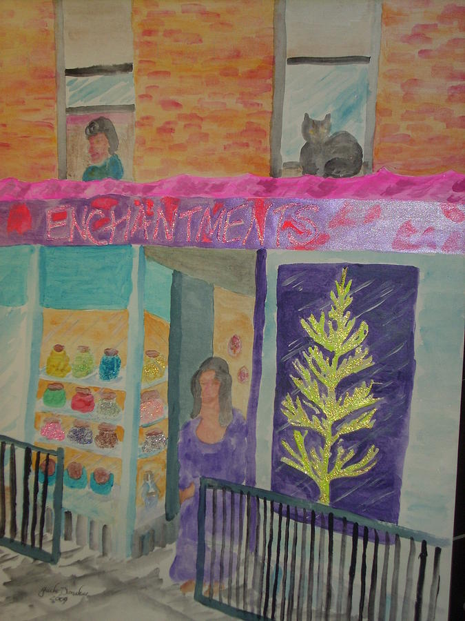 Speciality Store Mixed Media - Enchantments by Jack Donahue