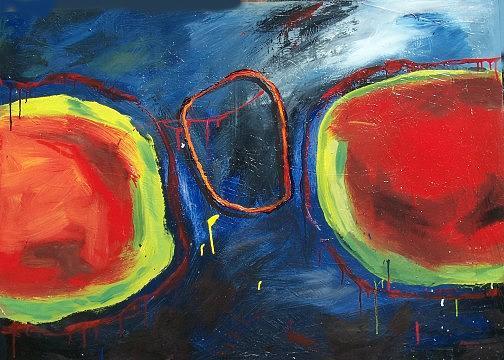 Painting Painting - Encounter by Aldo Suarez