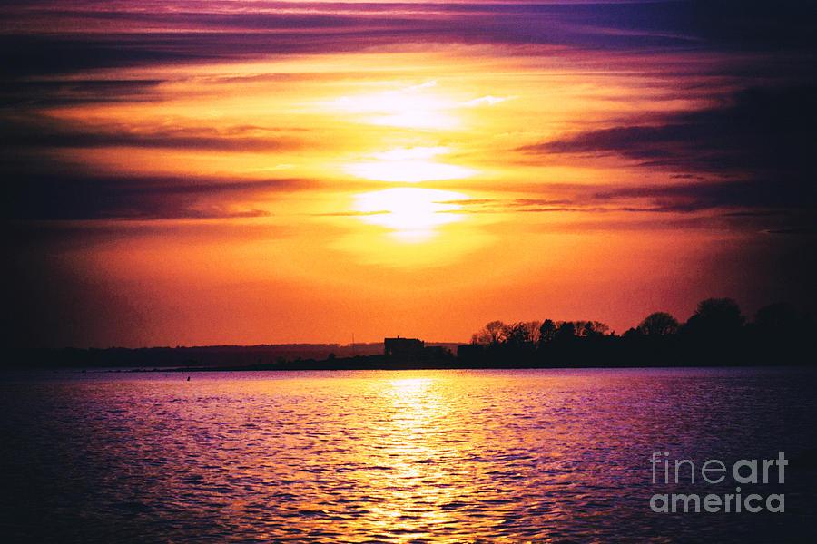 Sun Photograph - Encroachment by Joe Geraci