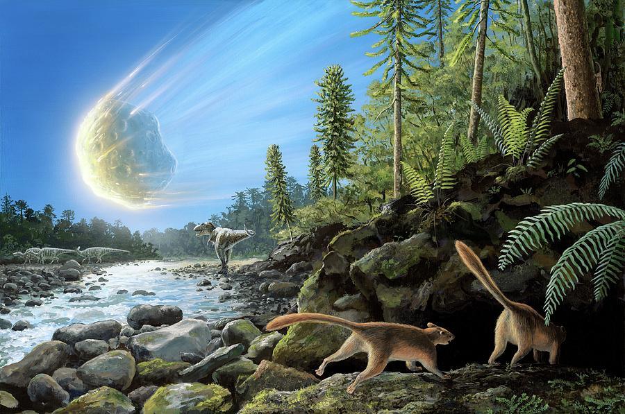 Artwork Photograph - End Of Cretaceous Kt Event by Richard Bizley