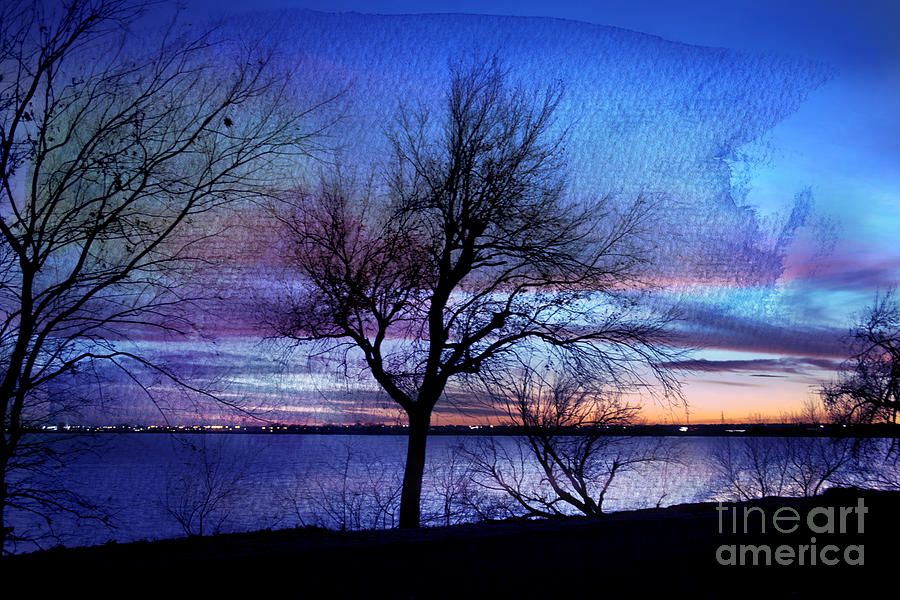Landscape Photograph - End Of Day by Betty LaRue