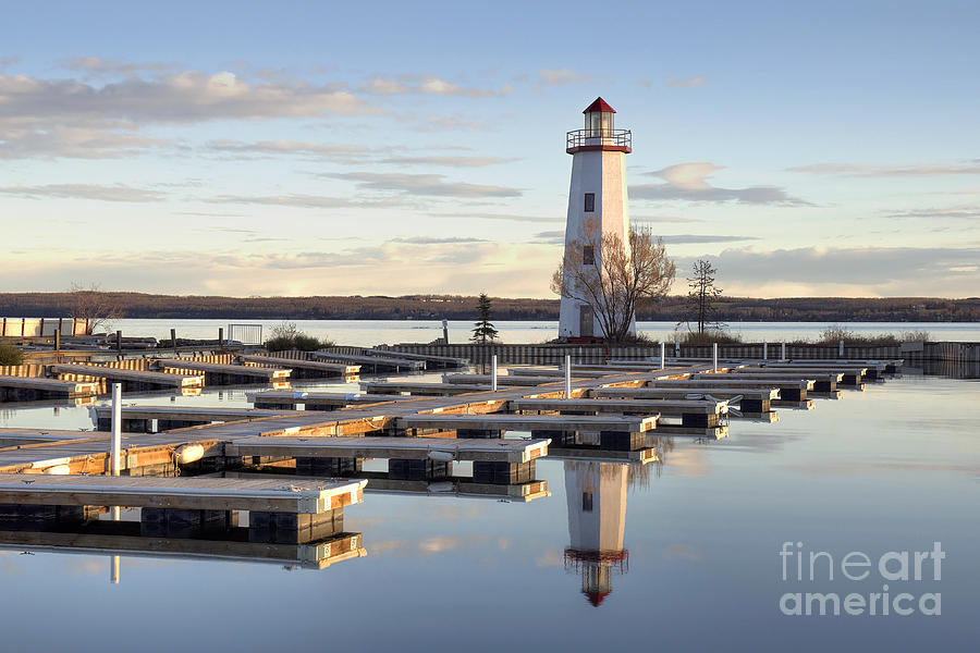 Lighthouse Photograph - End Of Season-2 by Shannon Carson