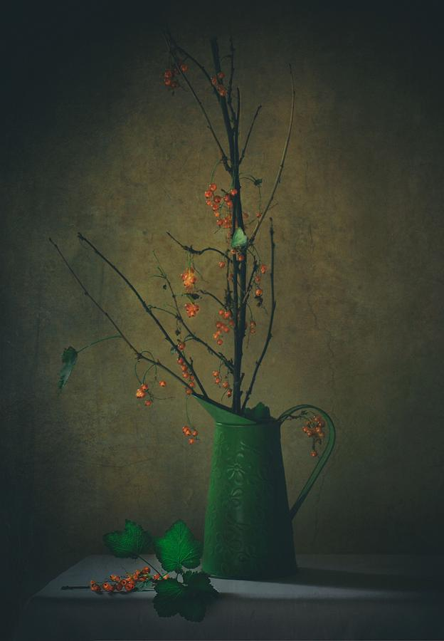 Still Life Photograph - End Of Summer by Delphine Devos