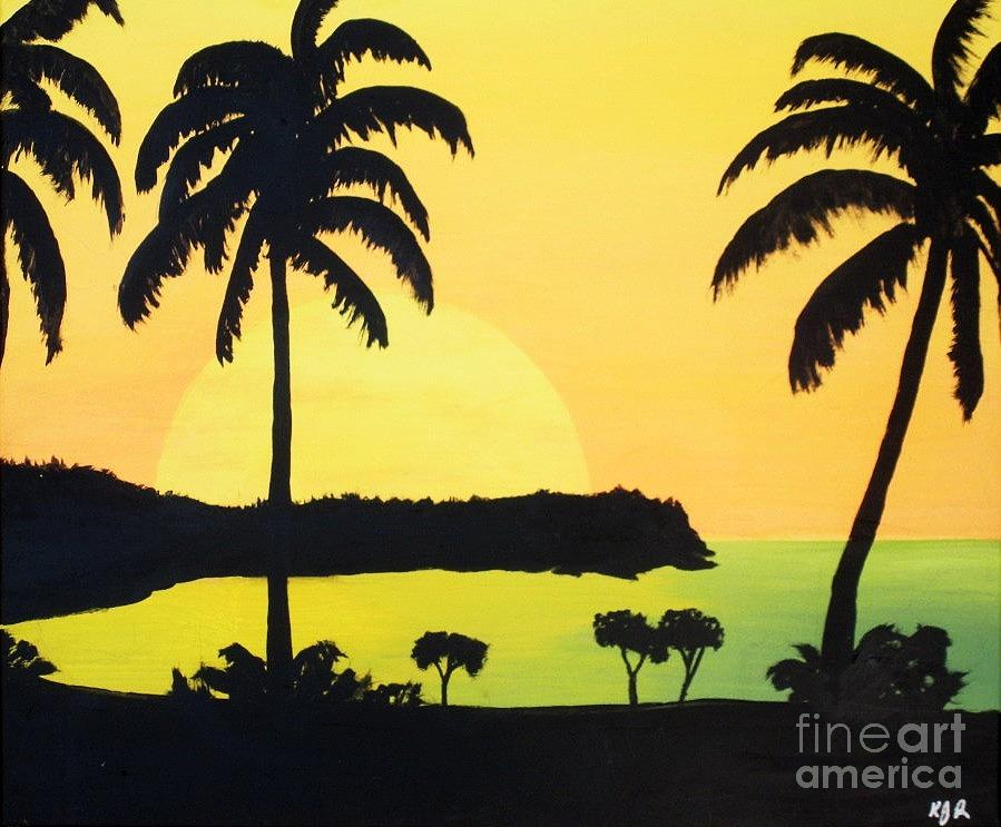End Of The Day Painting by Kenneth Regan