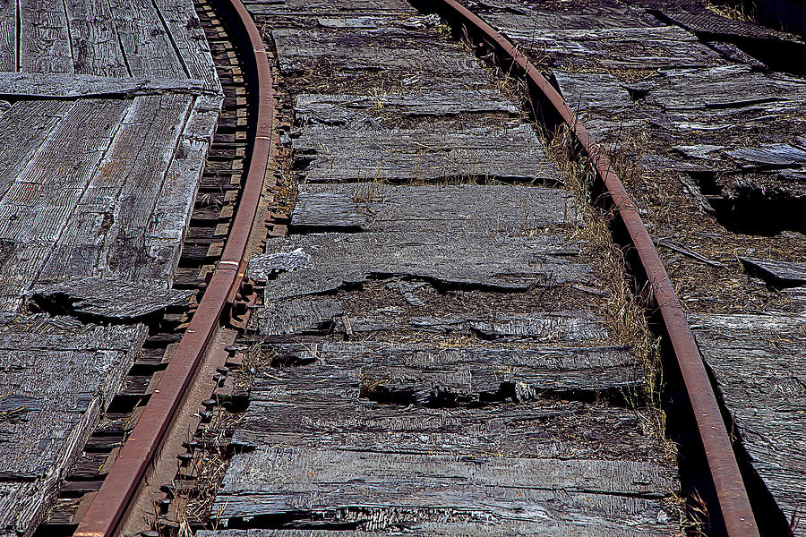 Rail Photograph - End Of The Line by Garry Gay
