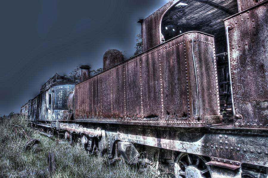 Thirlmere Photograph - End Of The Line. by Ian  Ramsay
