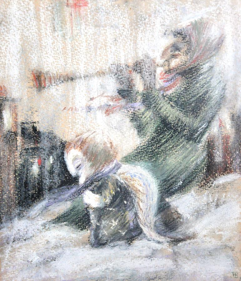 Nekoda Singer Painting - End Of The World by Nekoda  Singer