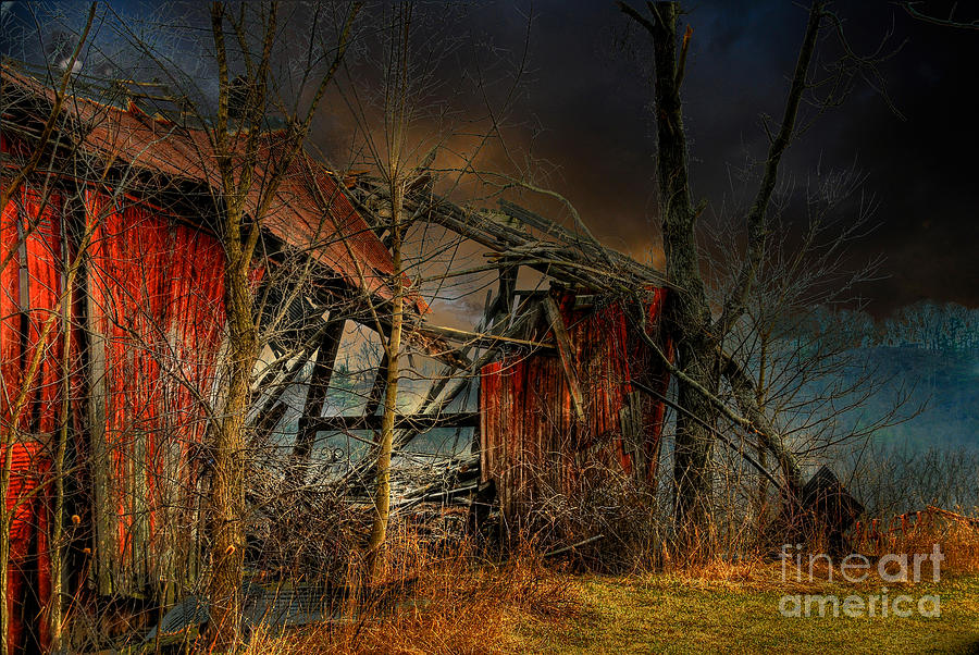 Dystopia Photograph - End Times by Lois Bryan