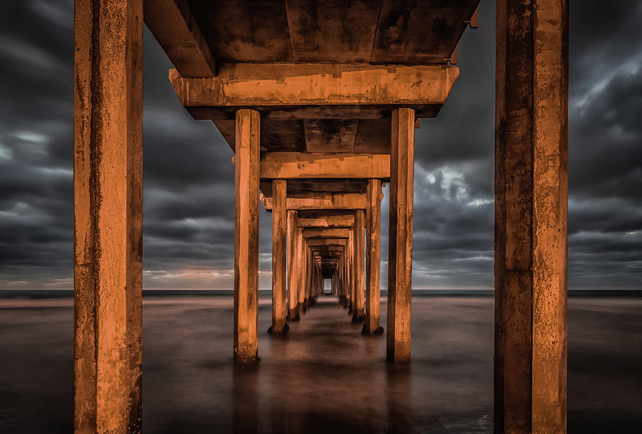 Pier Photograph - Endless by Andreas Agazzi