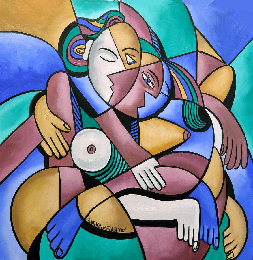 Endless Love Painting - Endless Love by Anthony Falbo
