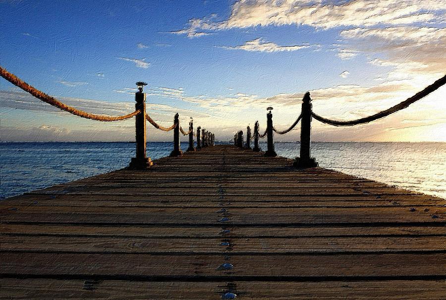 Endless Pier by Florian Rodarte