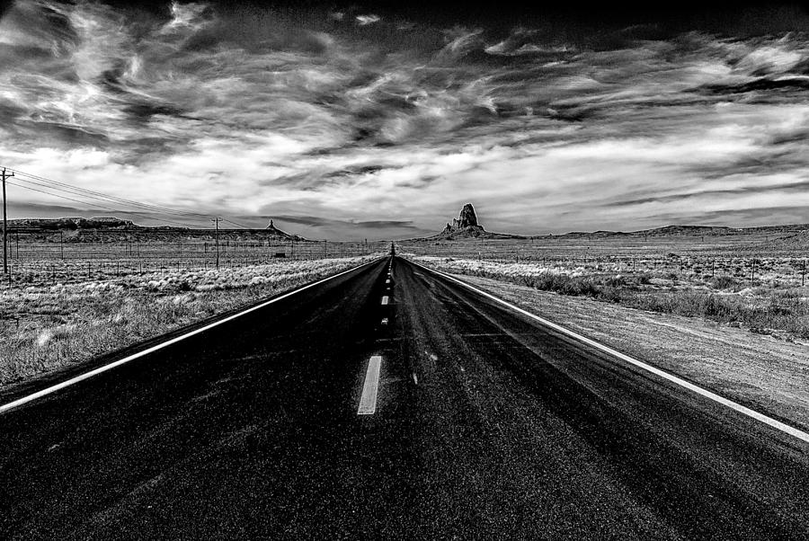 Endless Road Rt 163 Photograph By Louis Dallara