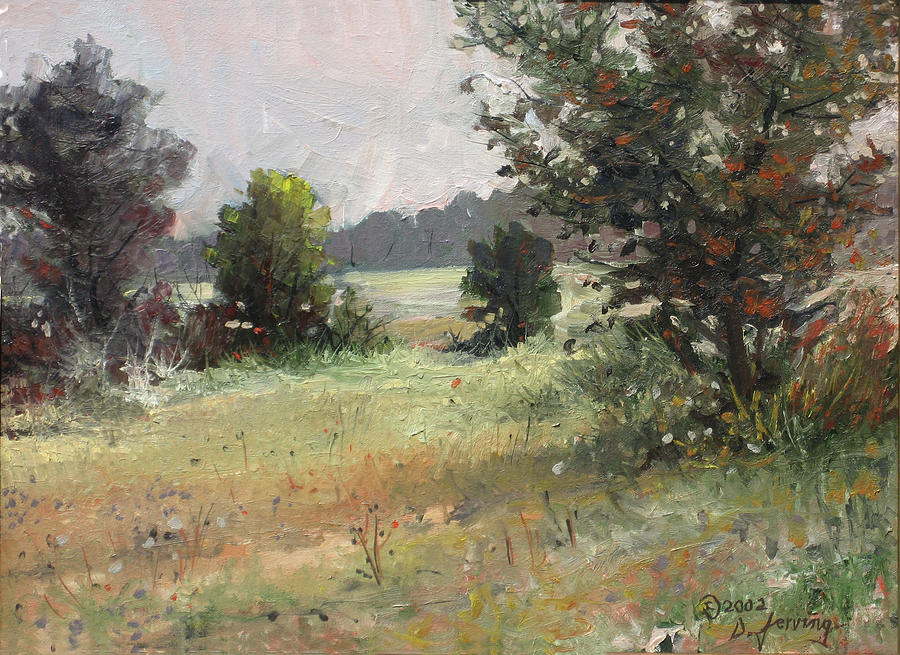 Endless Summer - Original Oil 24x18 Painting by Doug Jerving