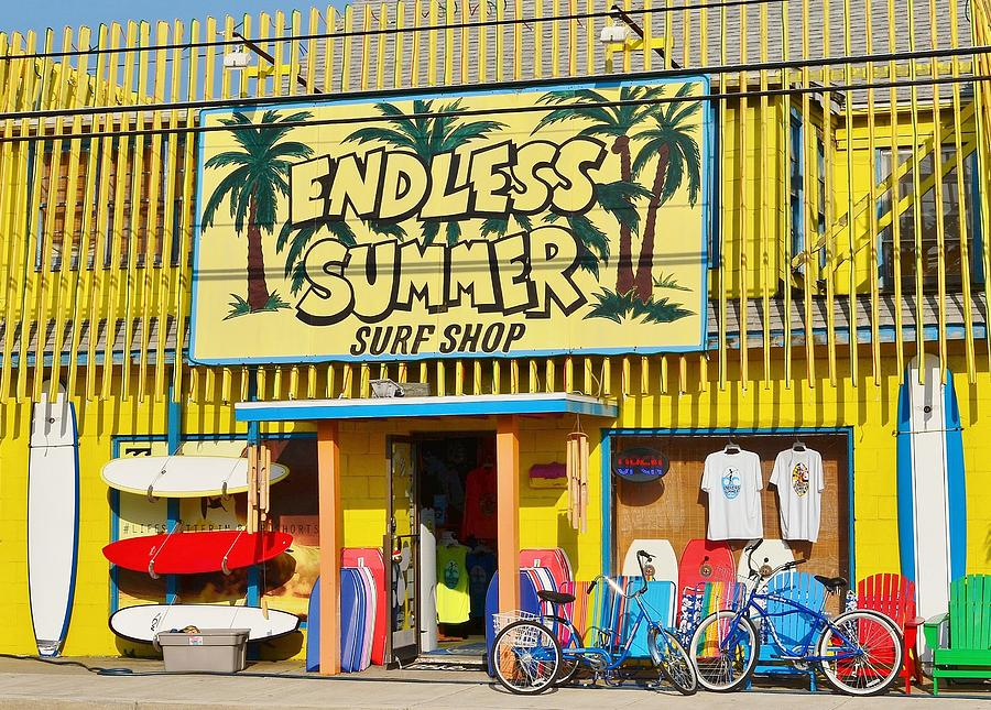 1fe8803432c0 Endless Summer Surf Shop - Ocean City Maryland Photograph by Kim ...