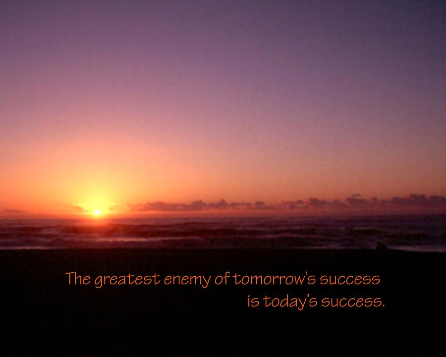 Enemy Of Success 21157 Photograph