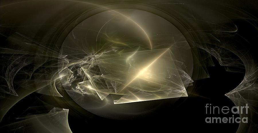 Nicholls Digital Art - Energy Breaks by Peter R Nicholls