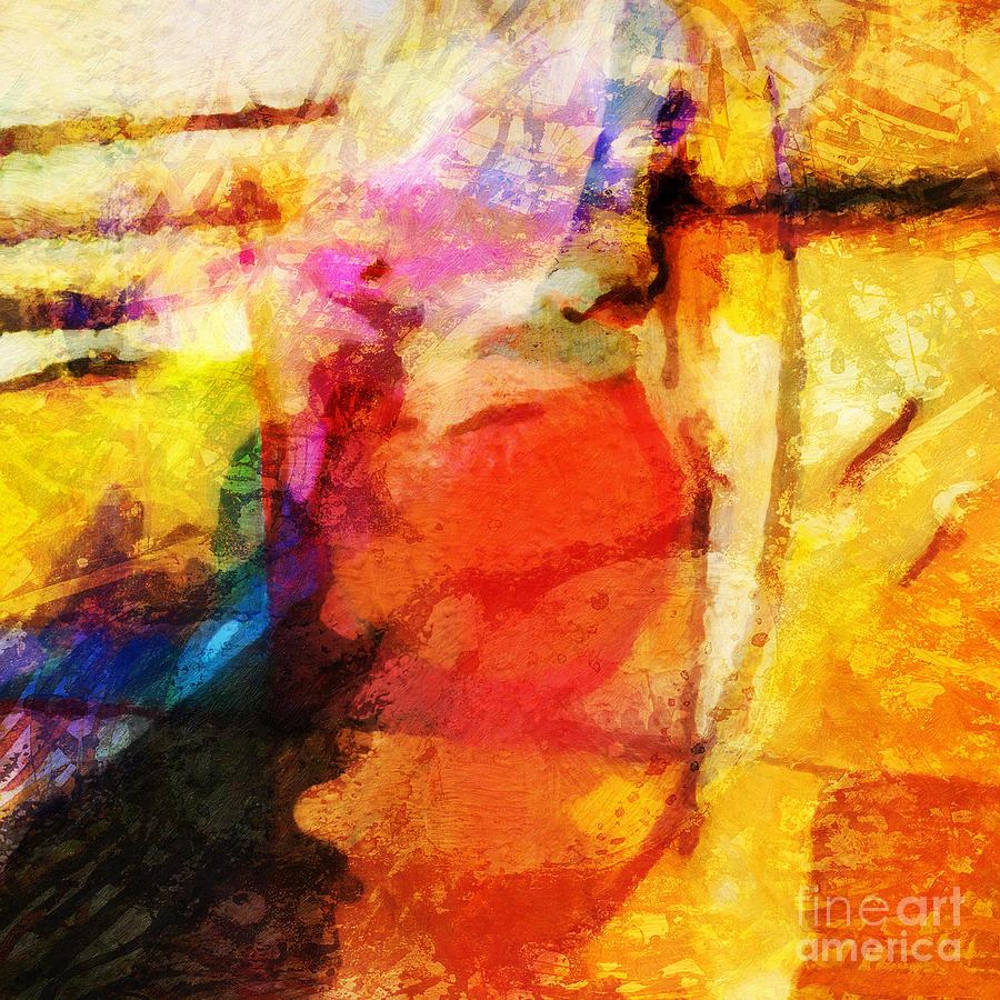 Energy Painting - Energy by Lutz Baar
