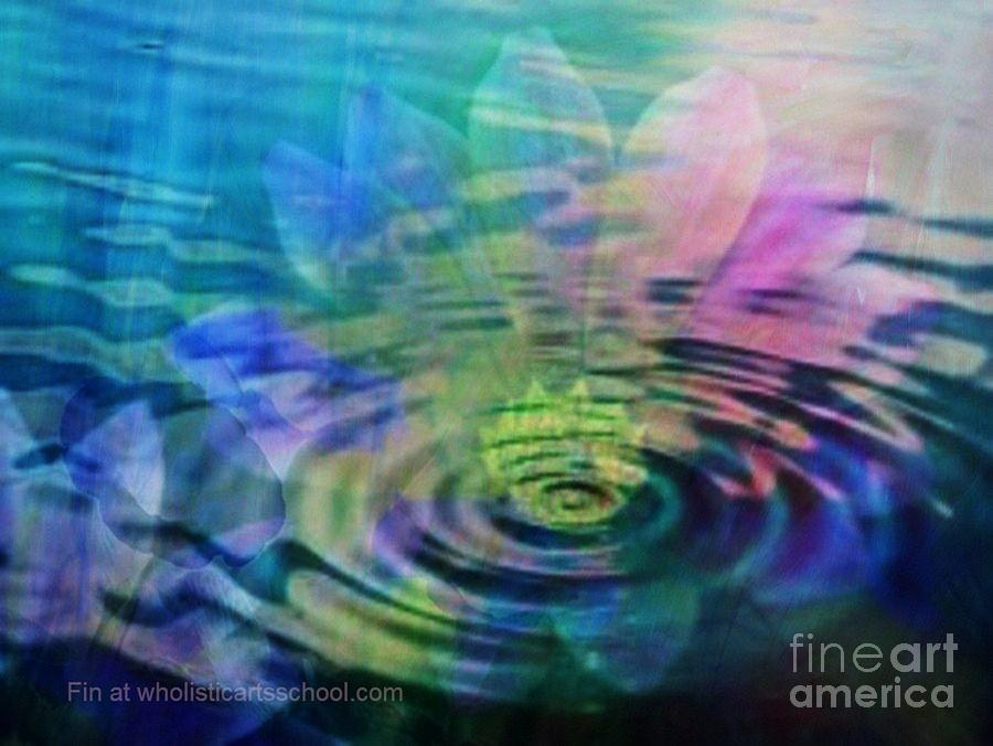 Ripple Painting - Energy Ripples by PainterArtist FIN