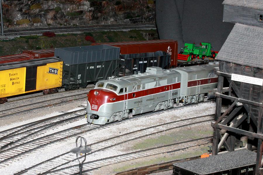 Cor Photograph - Engine 1046 by Hugh McClean