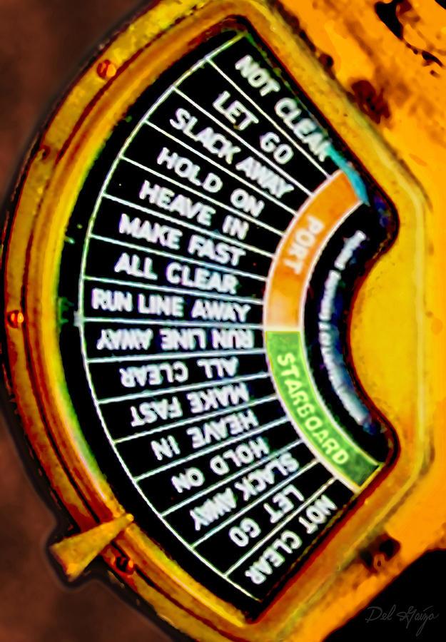 Engine Order Telegraph Photograph