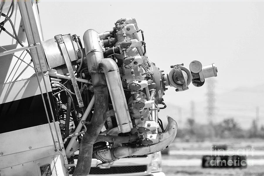 Aviation Photograph - Engines Ready by Mkaz Photography