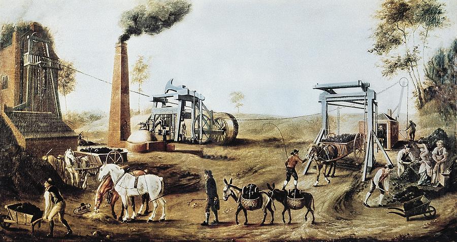 Scene Photograph - England 18th C.. Industrial Revolution by Everett