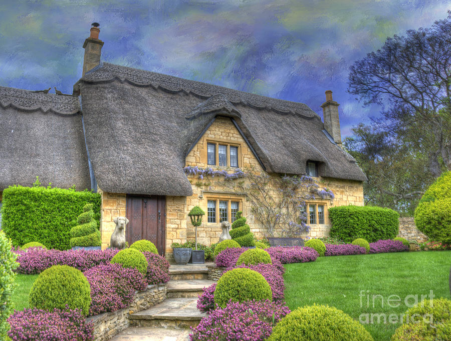 English Country Cottage Photograph By Juli Scalzi