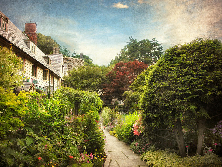 Garden Photograph - English Garden by Jessica Jenney