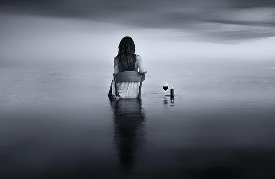 Wine Photograph - Enjoy The Silence by Maria Kaimaki