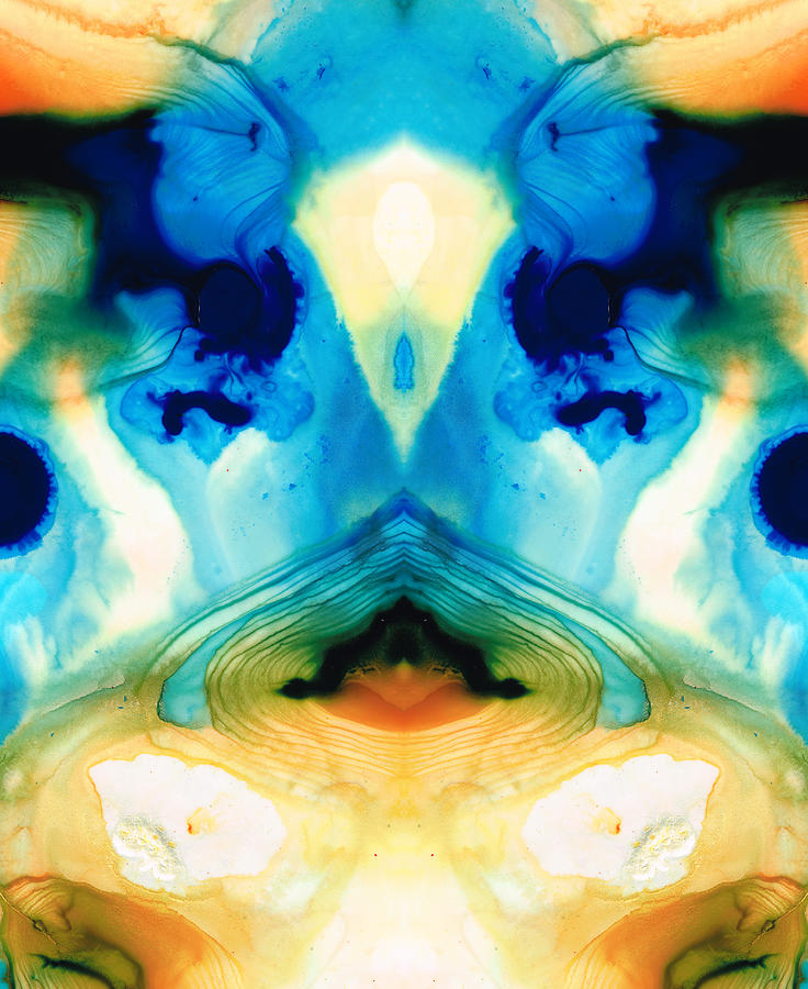Enlightened Painting - Enlightenment - Abstract Art By Sharon Cummings by Sharon Cummings