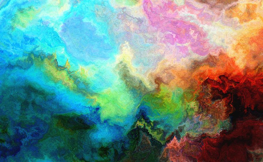 Abstract Digital Art - Enlightenment by Jury Onyxman