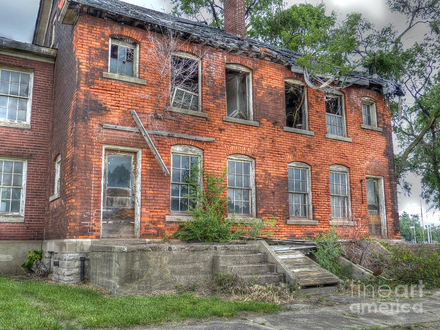 Michigan Photograph - Enlisted Mens Family Quarters by MJ Olsen