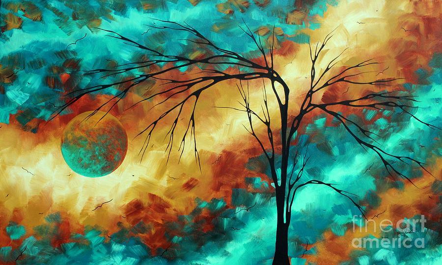 abstract brilliant colors original