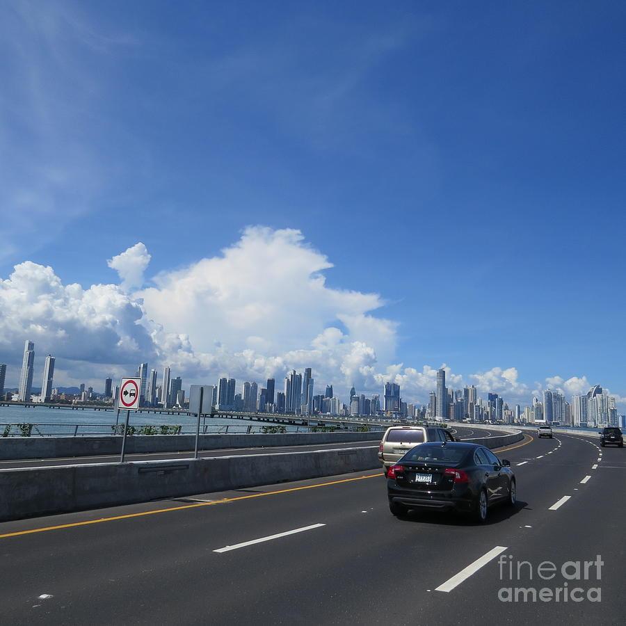 Entering Panama City In Panama Photograph by Vladimir Berrio Lemm