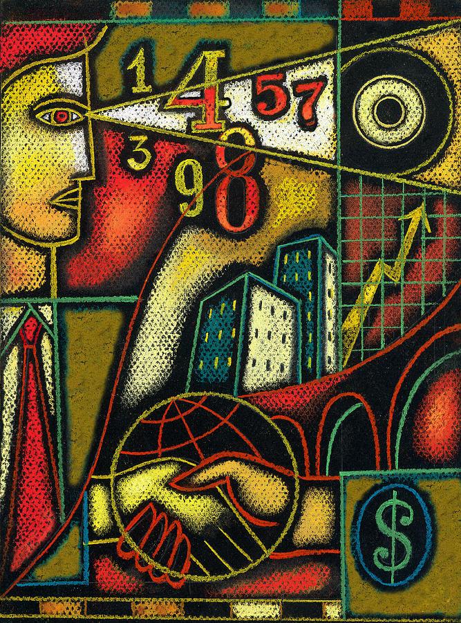 Enterprise Painting by Leon Zernitsky