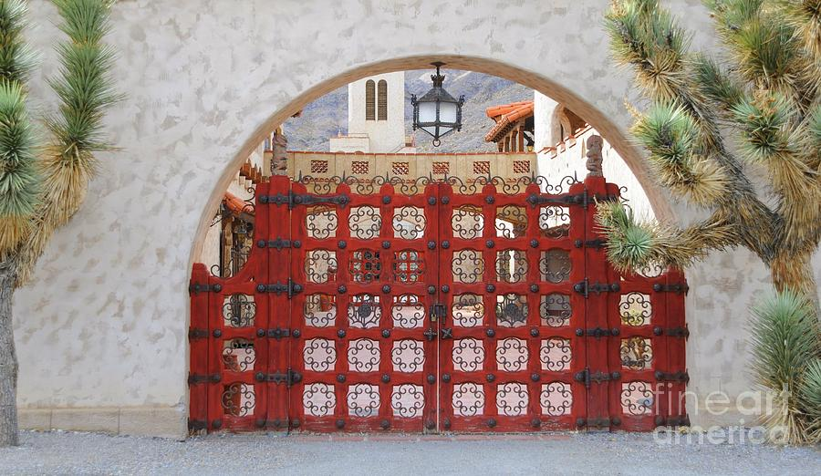 Gate Photograph - Entrance To Court Yard by Kathleen Struckle