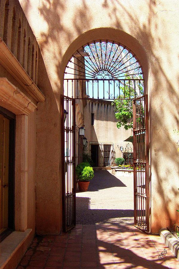Tlaquepaque Photograph - Entrances by Ben and Raisa Gertsberg
