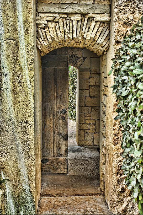 Door Photograph - Entrancing Entrance by Delilah Downs