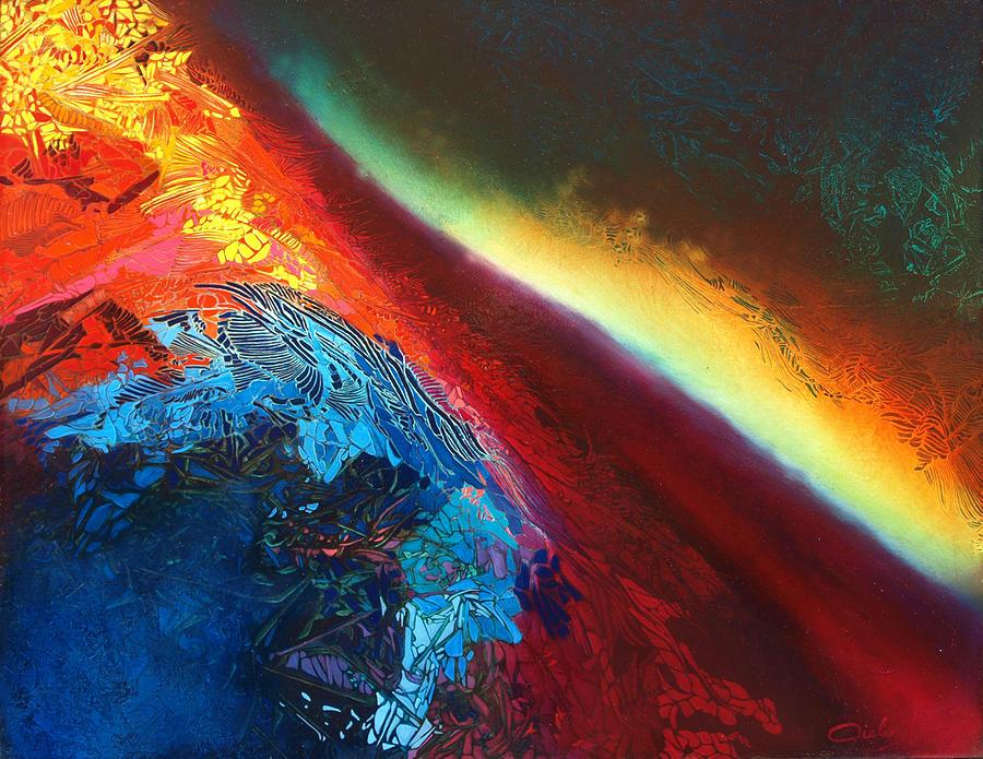 Entre Deux-mondes Painting by Bielen Andre