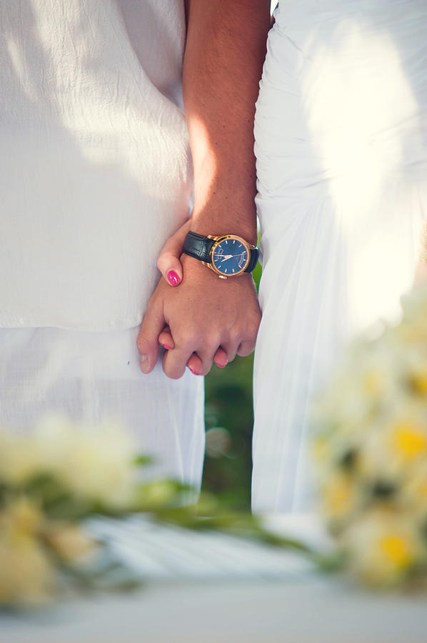 Marriage Photograph - Entrusting Myself To You  by Jenny Rainbow
