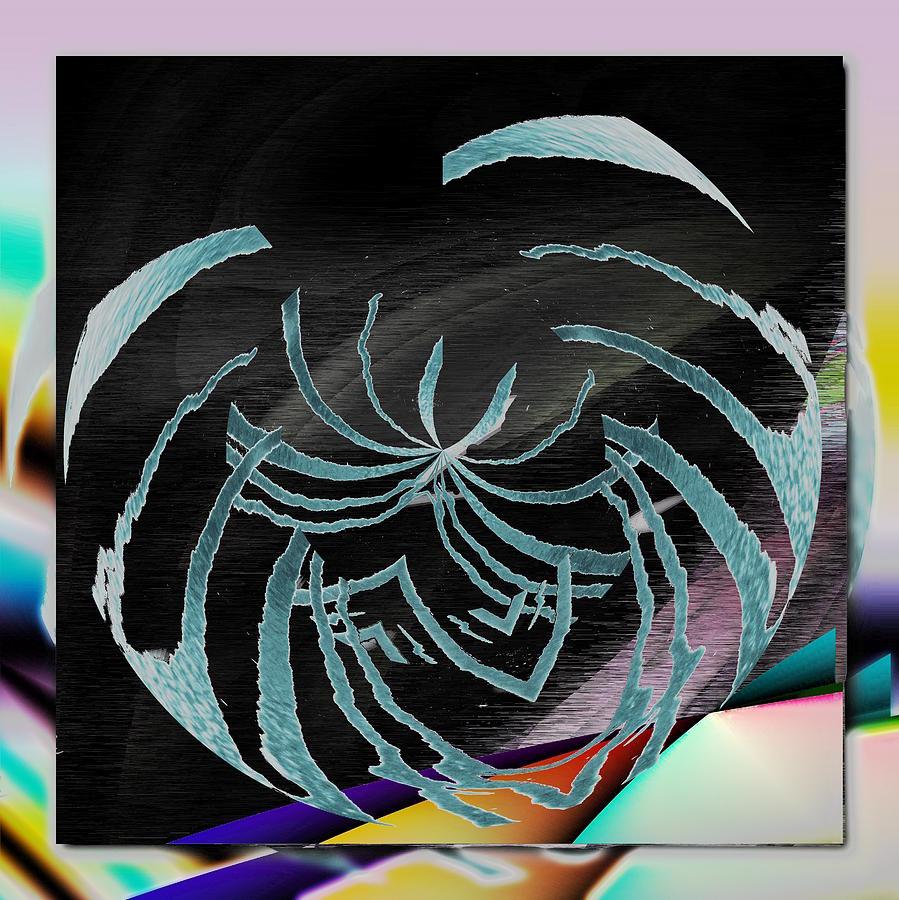 Abstract Digital Art - Enveloped 9 by Tim Allen