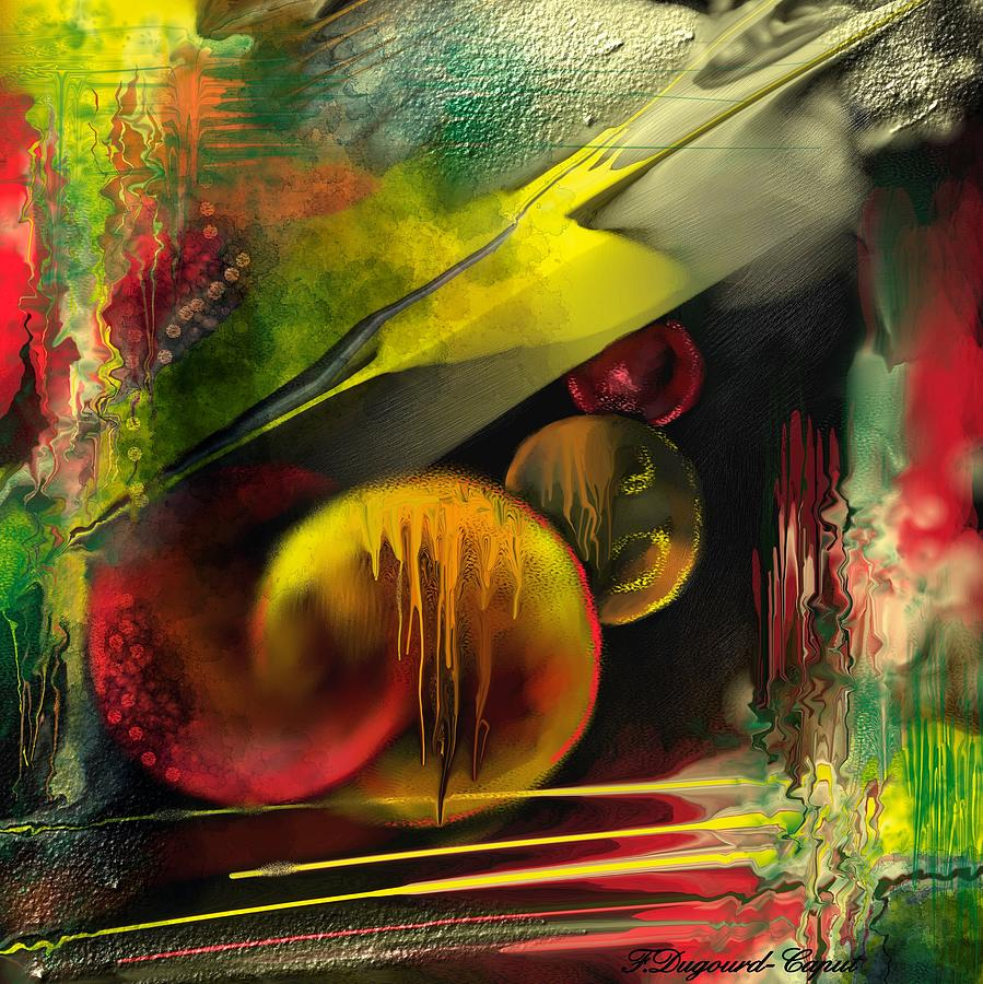 Abstract Painting - Envol  by Francoise Dugourd-Caput