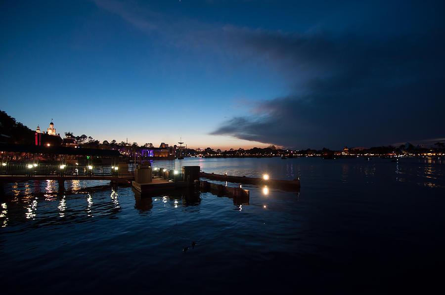 Epcot Photograph - Epcot Bay by Jeffrey Yeung