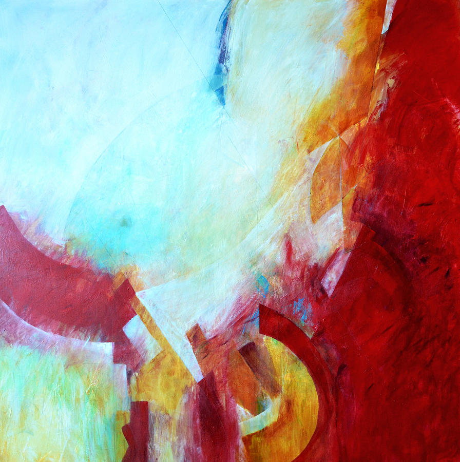 Abstract Painting - Ephemera by Filomena Booth