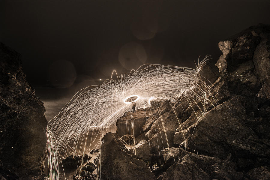 Steel Wool Photograph - Epic Steel Wool... by Israel Marino