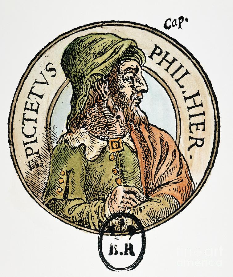 1st Century Painting - Epictetus by Granger