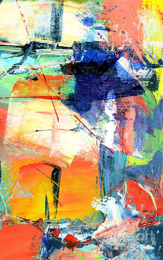 Abstract Painting - Epiphany by Ana Maria Edulescu